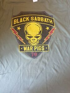 Official The End tour 2016 Black Sabbath Shirt large l new  tee t t-shirt