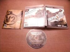 Sony PlayStation 3 PS3 CIB Complete Tested Sniper Elite V2 Ships Fast