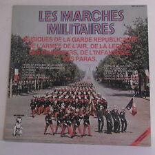 33T LES MARCHES MILITAIRES Vinyle LP GARDE REPUBLICAINE ARMEE AIR LEGION PARAS