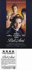 BEL AMI THE MOVIE UNUSED ADVERTISING COLOUR POSTCARD