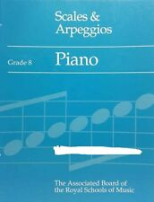 USED:  ABRSM Scales Arpeggios for Piano Grade 8 (old edition)