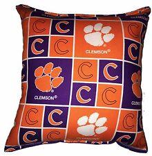 Clemson NCAA Pillow Tigers Pillow Handmade In USA