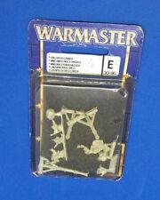 Warmaster Orco Rock Combi-fuera de imprenta METAL-War Master Goblins lobba Oldhammer 10mm