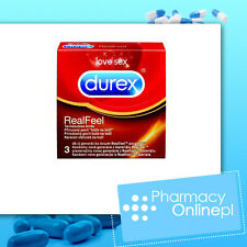 24 DUREX REAL FEEL LATEX FREE Ultra Thin Condoms pharmacy online shop