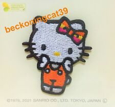 Sanrio Character Hello Kitty Patch Embroidered Applique Badge Sew Iron On JAPAN