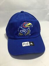 NCAA Kansas Jayhawks Youth Boys Slouch Adjustable Hat Ball Cap Blue