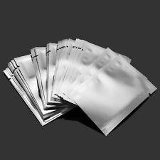 100Pcs bolsas de Mylar de lámina de aluminio sellador de vacío Paquete Sellado Bolsa de almacenamiento de alimentos