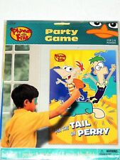 ~~~PHINEAS AND FERB~~~1- PARTY GAME FOR 2-8 PLAYERS- PARTY SUPPLIES