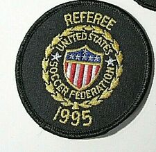 1995 United States Soccer Federation Referee Patch USSF
