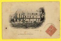cpa 18 - ARGENVIERES (Cher) Le CHÂTEAU de la CHARNAYE Meules de Foin