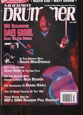 Modern Drummer - July 2004