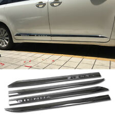 Fit For Toyota Sienna 2013-2017 2018 Chrome Door Body Molding Cover Trim Trims