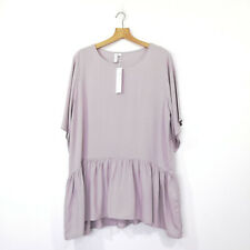 PQ The Label Flute Top Rayon Rosewater Colour Size XL BNWT