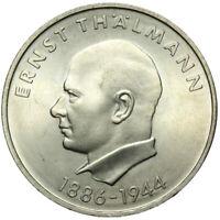 Gedenkmünze DDR - 20 Mark 1971 A - Ernst Thälmann 1886-1944 - Stempelglanz UNC