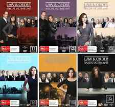 Law And Order - Special Victims Unit : Seasons 11, 12, 13, 14, 15 & 16 : NEW DVD