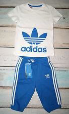 Adidas Originals BNWT Boys Short Sleeved T-Shirt & Shorts Pants Set Age 3 Years