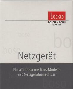 boso orig. Netzgerät - medicus Netzteil - PZN 07462815 - OVP v.med. Fachhändler
