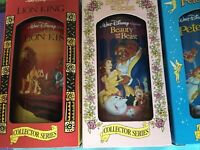 Burger King Collector Series Disney Cups By Coca-Cola NEW W/boxes-Read Desc