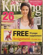Knitting Summer Knits 26 Patterns 6 Cute Toys Sept 2015 FREE SHIPPING!