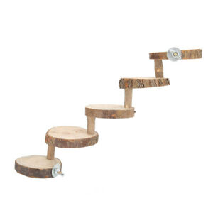 Pet Hamsters Stair Toy 5 Steps Small Animal Steps Ladder Small Climb Toy