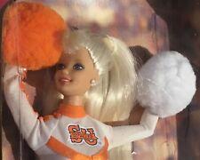 1996 Syracuse University Cheerleader Barbie doll NRFB