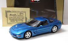 1:18 Bburago Chevrolet Corvette Braccio & Götz Dahlia New en Premium-modelcars