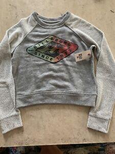 Billabong Girls Sweatshirt Size Small