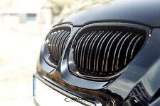 schwarz hochglänzende Nieren BMW 5er E60 Limousine Frontgrill M5 Salberk 6001DL