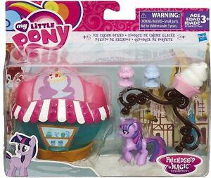My Little Pony Friendship Magic Ice Cream stand & Twilight Sparkle~New~