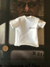 BLITZWAY Hannibal Lecter White Prison Ver White T-Shirt loose 1/6th scale