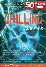 Chilling Classics - 50 Movie Pack (DVD, 2005, 12-Disc Set) - NEW!!