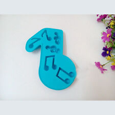 Music Note Shape Moule Silicone Mold Fondant Chocolate For DIY Baking Cake Jelly