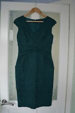 Luisa Spagnoli Sleeveless Green Dress Size 42/S/UK10