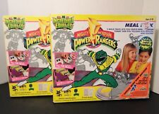 Incredible Edibles 1990's - Power Rangers Green Ranger Meal Mold Pack X 2 - New