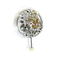 17 Jewels Silver Asian Full Skeleton For Watch 6498 Hand-Winding Movement