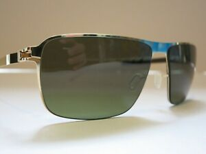 Mykita NO.1 GREYSON Gold Fern Green Polarized Glasses Eyewear Sunglasses Shade