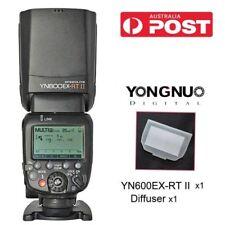 AU Yongnuo YN600EX-RT II Wireless Speedlite Flash Kit Bounce Diffuser for Canon