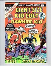 Marvel GIANT-SIZE KID COLT #1 Lieber art 1975 Vintage Comic