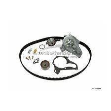 One New Gates Engine Timing Belt Kit with Water Pump TCKWP199 for Toyota