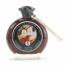 Shunga Edible Body Paint Painting with Brush Champagne & Strawberry Flavored