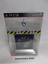 RESIDENT EVIL 6 COLLECTOR'S EDITION (SONY PS3) NEW PAL UK VERSION