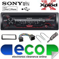 Peugeot 206 CC Sony CDX-G1200U CD MP3 USB Aux Car Radio Stereo Fitting Kit