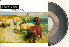 ELTON JOHN - simple life CD SINGLE 3TR (AUSTRALIA CARDSLEEVE) 1992 RARE!!