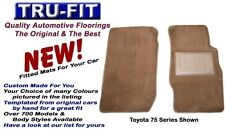 Toyota Land cruiser 80 Series Front Floor mats - Plush Pile