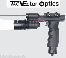 Vector Optics Cobra Tactical Vertical Foregrip Flashlight And Green Laser Sight