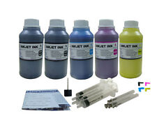 Refill Pigment ink kit HP 940 OfficeJet Pro 8000 8500 8500A Plus 5x250ml/S/Plug