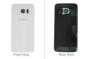 Genuine Samsung Galaxy S7 Edge G935 White Battery Cover & Adhesive - GH82-11346D