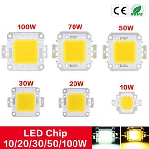 New LED SMD Light Lamp Bulb Chip 10W20W50W100W Cool/Warm White High Power Bright
