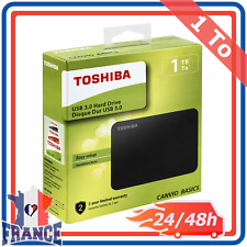 "Disque Dur Externe 2,5"" USB 3.0 2.0 Toshiba PC Portable Mac PS4 XBOX One 1To"