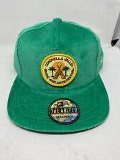 Coachella Festival New Era Hat Green Corduroy